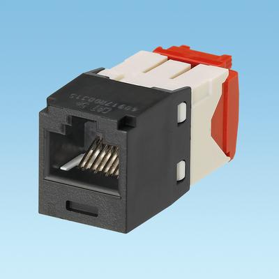 Panduit CJ5E88TGBL Panduit CJ5E88TGBL Mini-Com® TX5e™ Category 5e/Class D Jack Module; 8P8C, Black