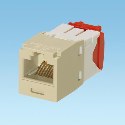 Panduit CJ5E88TGEI Panduit CJ5E88TGEI Mini-Com® TX5e™ Category 5e/Class D Jack Module; 8P8C, Electric Ivory