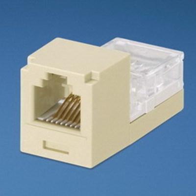 Panduit CJ66EIY Panduit CJ66EIY Mini-Com® Mini-Jack™ Category 3 RJ11 Jack Module; 6P6C, Electric Ivory