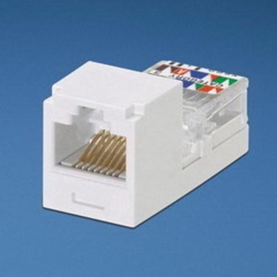 Panduit CJ66UWHY Panduit CJ66UWHY Mini-Com® Mini-Jack™ USOC Category 3 RJ11 Jack Module; 6P6C, White