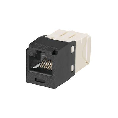 Panduit CJ688TGBL-24 Panduit CJ688TGBL-24 Mini-Com® TX6™ Category 6 RJ45 Jack Module; 8P8C, Black
