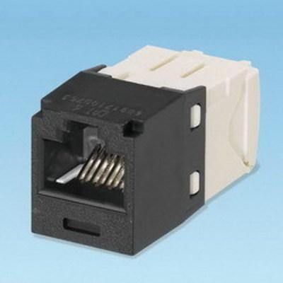 Panduit CJ688TGBL Panduit CJ688TGBL Mini-Com® TX6™ Category 6 RJ45 Jack Module; 8P8C, Black