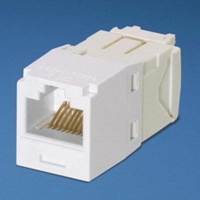 Panduit CJ688TGWH Panduit CJ688TGWH Mini-Com® TX6™ Category 6 RJ45 Jack Module; 8P8C, White