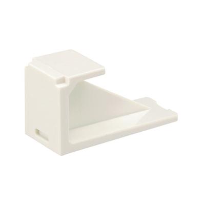 Panduit CMBIW-X Panduit CMBIW-X Mini-Com® Blank Module; Off White, 10/Pack