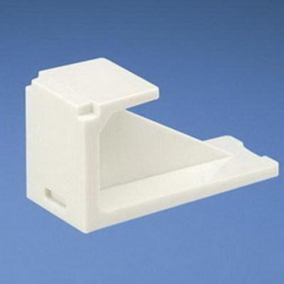 Panduit CMBWH-X Panduit CMBWH-X Mini-Com® Blank Module; White, 10/Pack