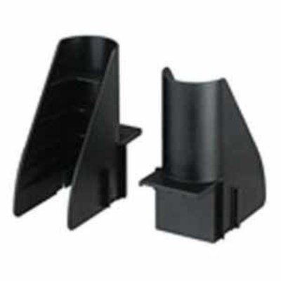 Panduit CMWW Panduit CMWW Cable Management Waterfall Wing; 4.87 Inch Height x 2 Width x 3.33 Inch Depth, Glass Filled Flame-Retardant Nylon 6.6, For used in Conjunction to Maintain (25.4 mm) Bend Radius Control Horizontally When Transferring Cable off Ladder Rack