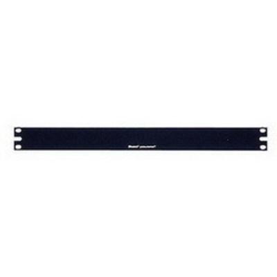 Panduit DPFP1 Panduit DPFP1 1 RMU Rack Filler Panel; Screw-On Mount, Steel, Black