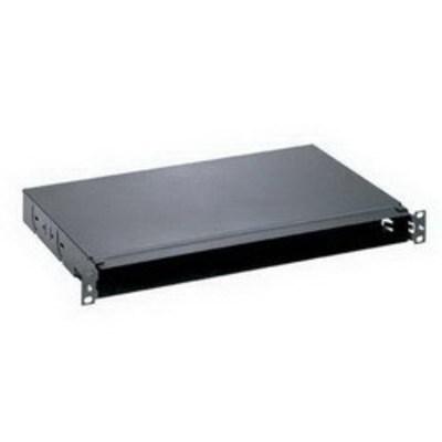 Panduit FMT1 Panduit FMT1 Opticom® Fiber Tray; Rack Mount, 1-Rack Unit, Black