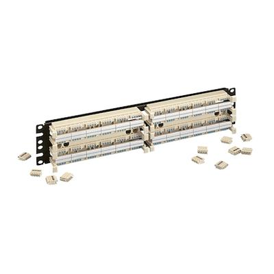 Panduit GPB484R2Y Panduit GPB484R2Y GP6™ Plus Standard Density Rack Mount Panel Kit; 3.47 Inch Height x 19 Inch Width x 2.19 Inch Depth, Polycarbonate Base, Cold-Rolled Steel Bracket, Beige