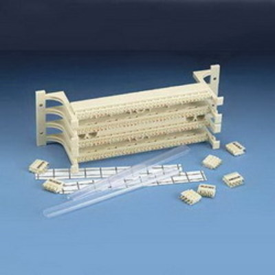 Panduit GPKBW144Y Panduit GPKBW144Y GP6 Plus® High Density Category 6 Termination Kit; 144-Pair, 36-Port, Beige