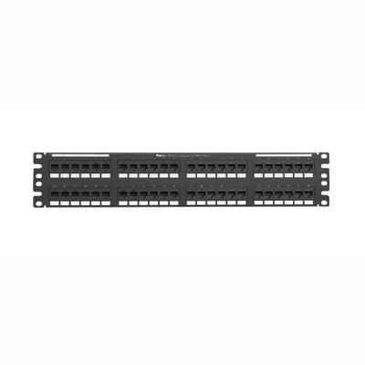 Panduit NK5EPPG48Y Panduit NK5EPPG48Y NetKey® 110-Punchdown Category 5e Punchdown Patch Panel; 48-Port, 2-Rack Unit