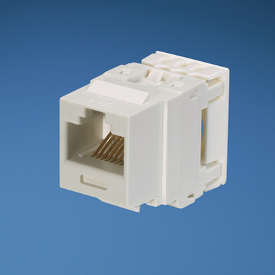 Panduit NK688MWH Panduit NK688MWH NetKey® Category 6 Jack Module; 8P8C, White