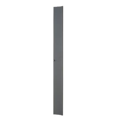 Panduit PRSHD6 Panduit PRSHD6 Single Hinged Door; 80.7 Inch Height x 6 Inch Width x 0.8 Inch Depth, Metal, Black