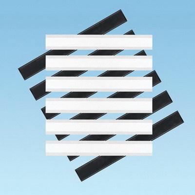 Panduit PXLK-VI Panduit PXLK-VI Cross Connect Label Kit; Black/White