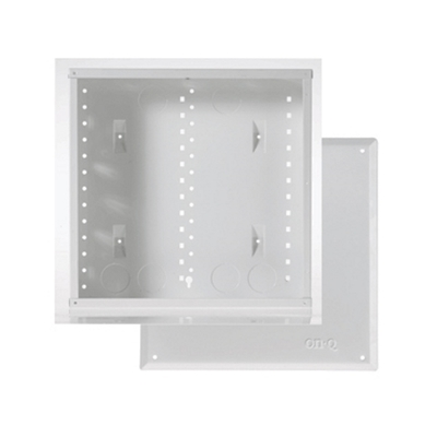 Pass & Seymour Inc EN1400 On-Q EN1400 Enclosure With Cover; Surface/Flush Mount, Glossy White