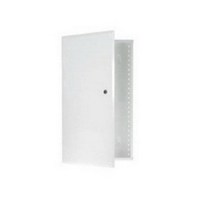 Pass & Seymour Inc EN4250 On-Q EN4250 Enclosure With Hinged Door; Surface/Flush Mount, Glossy White