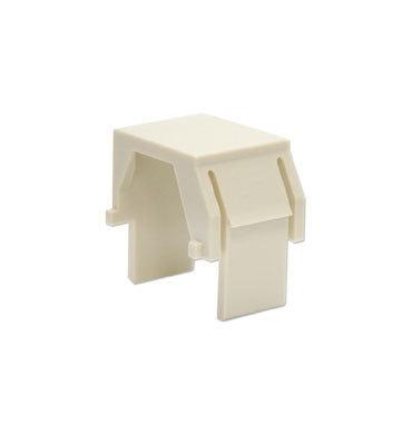 Pass & Seymour Inc WP3455-LA On-Q WP3455-LA Blank Keystone Insert; Snap-In/Wallplate/Strap Mount, Plastic, Light Almond