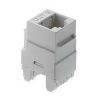 Pass & Seymour Inc WP3460-WH On-Q WP3460-WH Category 6 RJ45 Connector; 8C, White