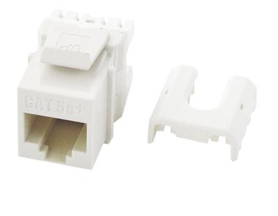 Pass & Seymour Inc WP3475-WH WP3475-WH P&S CAT 5E QC A/B KEYSTON