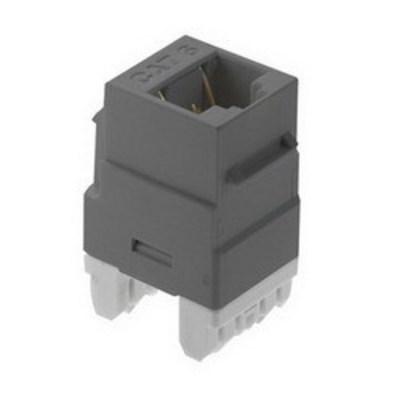 Pass & Seymour Inc WP3476-BK On-Q WP3476-BK Keystone Insert; Wallplate Or Strap Mount, High-Impact Flame Retardant Plastic, Black