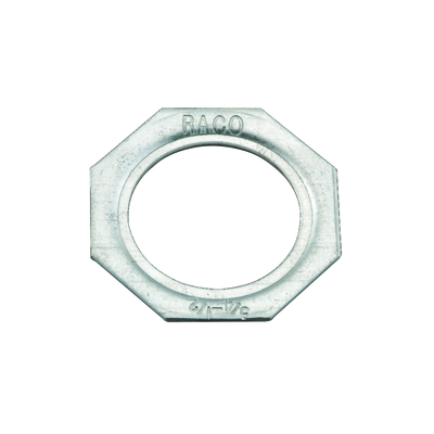 RACO 1365 Hubbell Electrical / RACO 1365 Reducing Washer; Steel, Silver