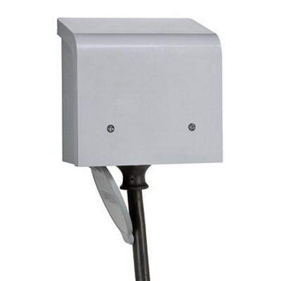 Reliance PBN30 Reliance PBN30 PBN Series Non-Metallic Power Inlet Box; 30 Amp, 125/250 Volt AC, ABS