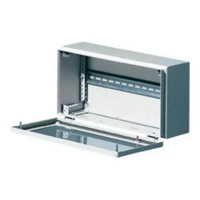 Rittal 1558510 Rittal 1558510 BG Bus Enclosure; 1.38 mm Sheet Steel Enclosure, 1.5 mm Sheet Steel Door, RAL 7035