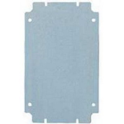 Rittal 1566700 Rittal 1566700 Mounting Panel; 14 Gauge Sheet Steel, Zinc-Plated, Passivated