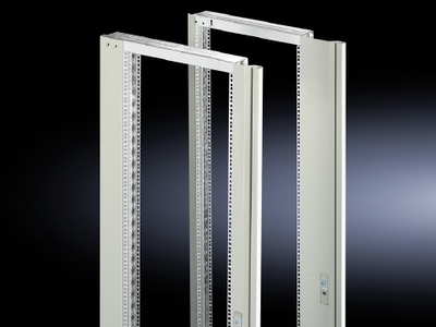 Rittal 2346235 Rittal 2346.235 Large Side 130/180 Degree Hinge Swing Frame with Trim Panel; Sheet Steel, Zinc Plated, RAL 7035 Light Gray