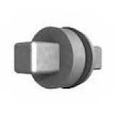 Rittal 2460000 Rittal 2460000 7-mm Square Insert; 27 mm Length, Die-Cast Zinc