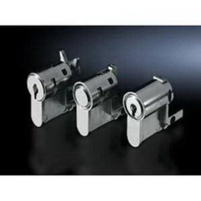 Rittal 2468000 Rittal 2468000 Push-button Lock Insert; Die-Cast Zinc, Powder-Coated