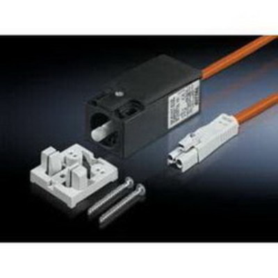 Rittal 4315520 Rittal 4315520 Door-Operated Switch With 600 mm Connection Cable; 240/125/24 Volt AC, 24 Volt DC, 8/6 Amp