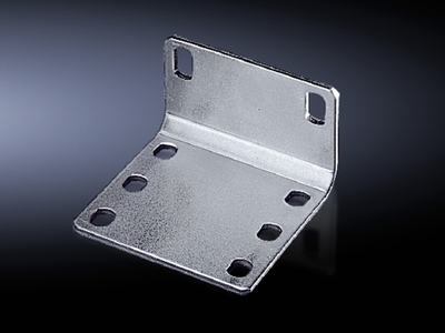 Rittal 4582000 Rittal 4582000 Pin and Sleeve Interconnecting Bracket Kit; Sheet Steel, Zinc-Plated