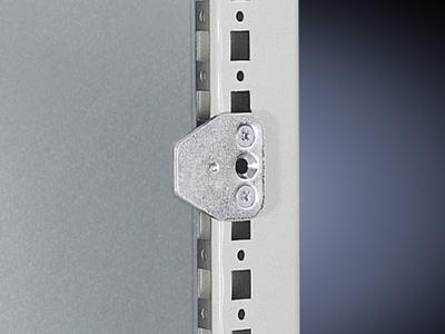 Rittal 4593000 Rittal 4593000 Pin and Sleeve MPL Center Fixture; Sheet Steel, Zinc-Plated