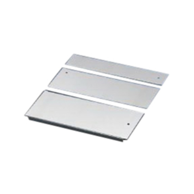 Rittal 5001210 Rittal 5001210 Base Plate; Carbon Steel, Zinc Plated