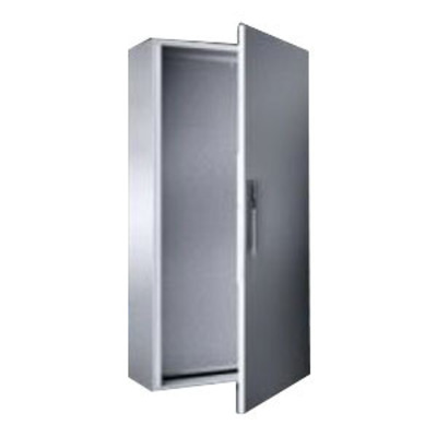 Rittal 5116500 Rittal 5116.500 Compact System Enclosure; 800 mm Width x 1200 mm Height x 300 mm Depth, 1.5 mm Sheet Steel, Dip Coat Primed, RAL 7035 Light Gray