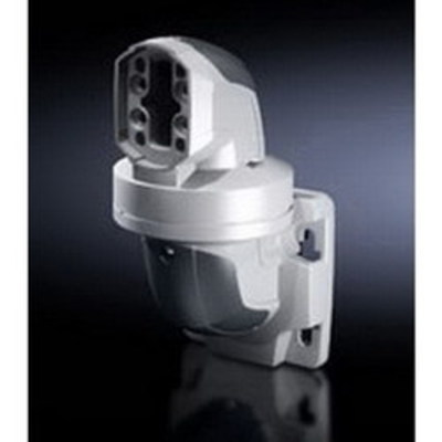 Rittal 6206740 Rittal 6206740 Hinged Horizontal Outlet; Cast Aluminum Hinge, Plastic Cover, RAL 7024 Cover/RAL 7035 Hinge, 270.5 mm Length