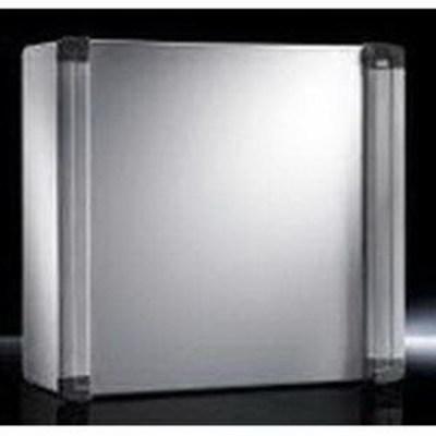 Rittal 6320400 Rittal 6320400 AE Rear Door Command Panel; NEMA 12, 19.7 Inch x 19.7 Inch x 8.3 Inch, Sheet Steel Enclosure and Door, Powder-Coated