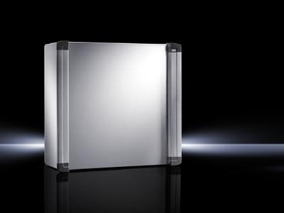 Rittal 6320600 Rittal 6320600 AE Rear Door Command Panel; NEMA 12, 23.6 Inch x 23.6 Inch x 8.3 Inch, Sheet Steel Enclosure and Door, Powder-Coated