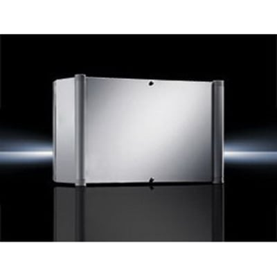 Rittal 6531200 Rittal 6531200 AE Command Panel; 8.300 Inch Deep, Sheet Steel Enclosure and Door, RAL 7035 Light Gray Enclosure and Door