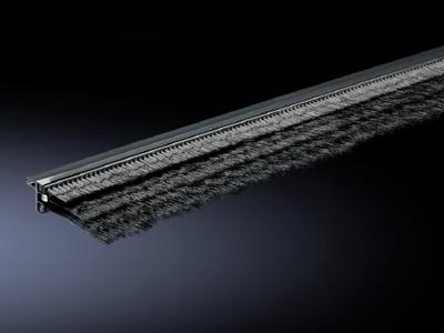 Rittal 7825375 Rittal 7825375 Super-Airtight Brush Strip; Plastic, RAL 7035 Light Gray