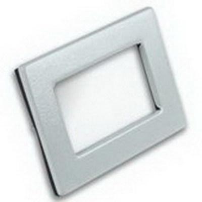 Rittal 8018465 Rittal WK2919C Window Kit; NEMA 4, 546 mm Width x 800 mm Height, 14 Gauge Carbon Steel, RAL 7035 Light Gray, Painted