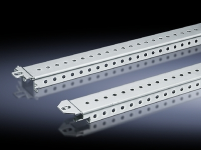 Rittal 8612250 Rittal 8612250 TS Mounting Rail; 18 mm x 38 mm, Sheet Steel, Zinc-Plated Chromated