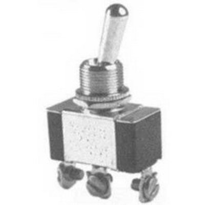 Selecta Switch SS206B-BG Selecta Switch SS206B-BG Toggle Switch; 1-Pole, SPDT, 125/250 Volt AC, 15/10 Amp