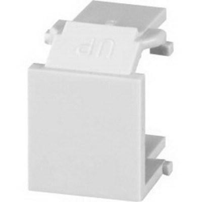 Signamax CMK-BL Signamax CMK-BL-IV Blank Keystone Module; Flush Mount, Thermoplastic, Ivory, 10/Pack
