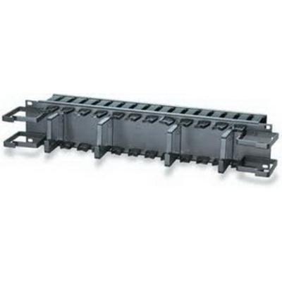 Signamax CMP-350 Signamax CMP-350 Panel With Distribution Ring; Flush Mount, 2-Rack Unit, Black