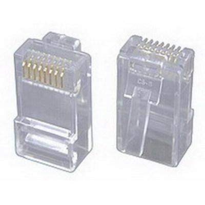 Signamax KRJ45/5SLD-100 Signamax KRJ45/6SLD-100 Category 6 RJ45 Modular Plug; 8P8C