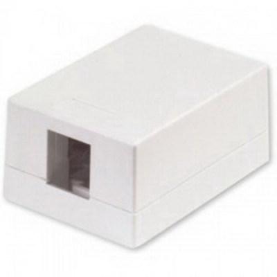 Signamax SMKL-1-WH Signamax SMKL-1-WH Surface Mount Box; Surface Mount, Thermoplastic, White, (1) Port