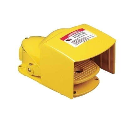 Square D by Schneider Electric 9002AW21 Square D 9002AW21 Heavy Duty Foot Switch, 600 VAC/DC, 5 A, Spring Return Operator, SPDT