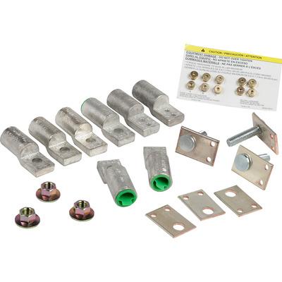 Square D by Schneider Electric NQALV2 Schneider Electric / Square D NQALV2 Compression Lug Kit; 225 Amp, Aluminum